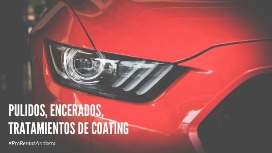 coating coches ceramico tratamiento andorra rentador lavadero